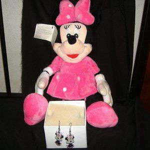 Brand New Minnie 100% high quality one pair earing